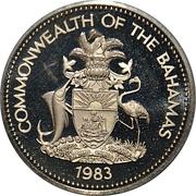 1 dollar (10ème anniversaire de l'indépendance) – avers