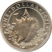 1 dollar - Elizabeth II – revers