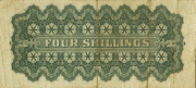 4 Shillings – revers