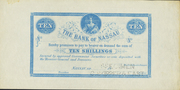 10 Shillings (blue) – avers
