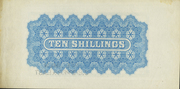10 Shillings (blue) – revers