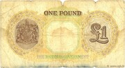 1 Pound (George VI) – revers