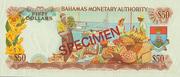 50 Dollars 1968 -  revers