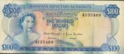 100 Dollars 1968 – avers