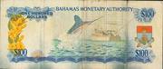 100 Dollars 1968 – revers