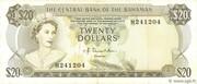 20 Dollars (Elizabeth II) – avers
