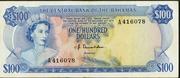 100 Dollars (Elizabeth II) – avers