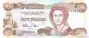 50 Dollars (Elizabeth II) – avers