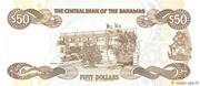 50 Dollars (Elizabeth II) – revers