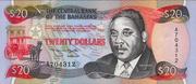 20 Dollars (Sir Milo B. Butler) – avers