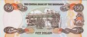 50 Dollars (Elizabeth II; 1 horizontal & 1 vertical serial numbers) – revers