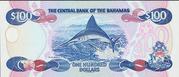 100 Dollars (Elizabeth II) – revers