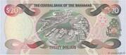 20 Dollars (Sir Miro B. Butler) – revers