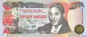 20 Dollars (Sir Miro B. Butler) – avers