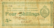 4 Shillings – avers