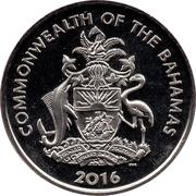 1 Dollar - Elizabeth II (The Golden Knights) – avers