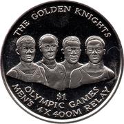 1 Dollar - Elizabeth II (The Golden Knights) – revers