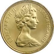 1 cent Elizabeth II -  avers