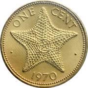 1 cent Elizabeth II -  revers