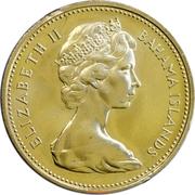 1 cent - Elizabeth II -  avers