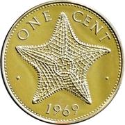 1 cent Elizabeth II – revers