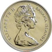 5 cents Elizabeth II -  avers