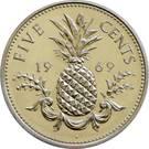 5 cents Elizabeth II – revers