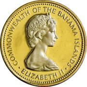 1 cent Elizabeth II – avers