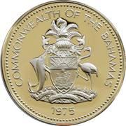 25 cents Elizabeth II (magnétique) -  avers