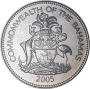 25 cents Armoiries (Non Magnétique) -  avers
