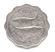 10 cents Elizabeth II – revers