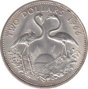 2 dollars  - Elizabeth II -  revers
