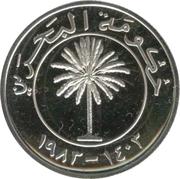 50 Fils - Isa bin Salman (Silver Proof Issue) – avers