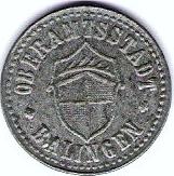 10 pfennig - Baligen – avers
