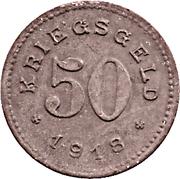 50 pfennig - Balingen – revers