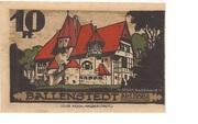 10 Pfennig (Ballenstedt) – revers