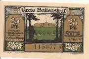 25 Pfennig (Kreis Ballenstedt) – avers