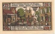 25 Pfennig (Kreis Ballenstedt) – revers
