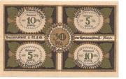 30 Pfennig (Kreis Ballenstedt) – avers