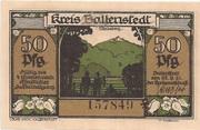 50 Pfennig (Kreis Ballenstedt) – avers