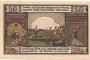 50 Pfennig (Kreis Ballenstedt) – revers