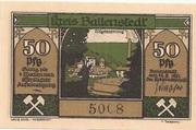 50 Pfennig (Ballenstedt) – avers