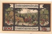 100 Pfennig (Ballenstedt) – revers