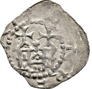 1 dünnpfennig Eberhard II. von Otelingen – revers