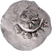 1 dünnpfennig Otto II. von Andechs – revers