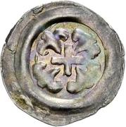 1 pfennig Heinrich I. von Bilversheim – avers