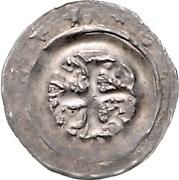 1 pfennig Heinrich I. von Schmiedefeld – revers