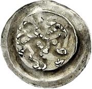 1 pfennig Heinrich I. von Bilversheim – revers