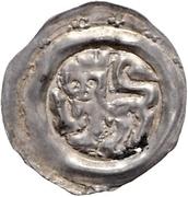 1 pfennig Heinrich I. von Schmiedefeld – avers