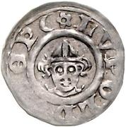 1 pfennig Leopold I. von Gundlach – avers